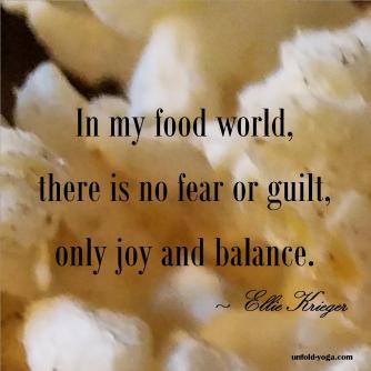 Joy and Balance
